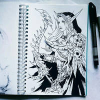 Instaart - Sylvanas (NSFW on Patreon) by Candra