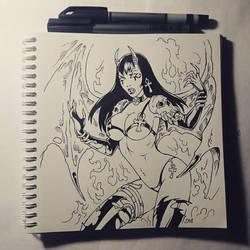 Sketchbook - Purgatori by Candra