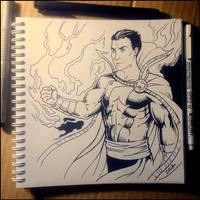 Sketchbook - Shazam by Candra