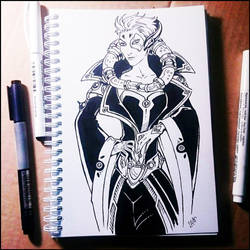 Sketchbook -  Moira (NSFW on Patreon) by Candra