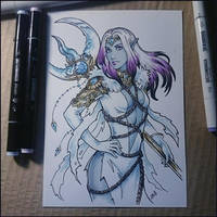 Sketchbook - Liniera by Candra