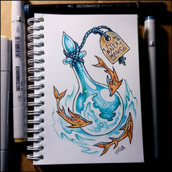 Sketchbook - Water Magic by Candra