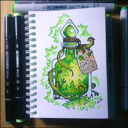 Sketchbook - Earth Magic by Candra