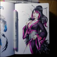Sketchbook - Riena by Candra