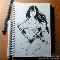 Sketchbook - Tifa Lockhart (NSFW on Patreon) by Candra