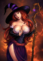 Sorceress (SFW) by Candra