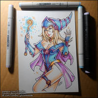 Sketchbook - Dark Magician Girl by Candra