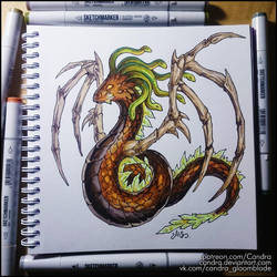 Sketchbook - The Serpent of Earth by Candra