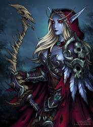 Sylvanas Windrunner (SFW) by Candra