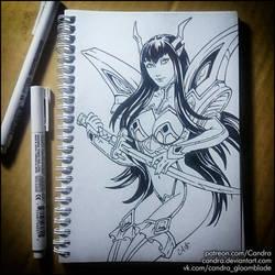 Sketchbook -  Satsuki Kiryuin (NSFW on Patreon) by Candra