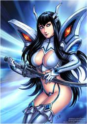 Satsuki Kiryuin (SFW) by Candra