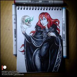 Sketchbook - Elwen by Candra