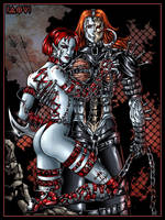Gloomblade and Nailmeister-2 by Candra