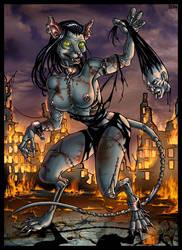 Neko Zombie by Candra