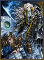 Alucard vs Richter by Candra