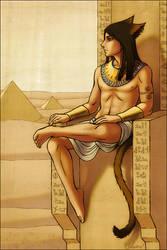 TIM, GUARDIAN OF THE NILE by kayshasiemens