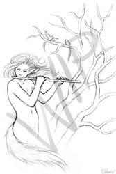 flute thing - WIP by kayshasiemens