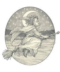 Granny Weatherwax by kayshasiemens