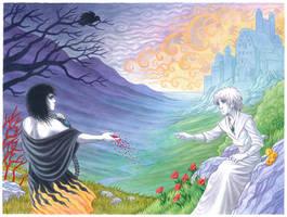 Morpheus and Daniel by kayshasiemens