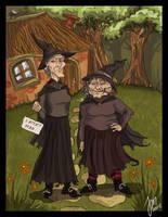 Esme and Gytha by yenefer