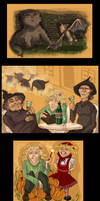 Pratchett - Witches Abroad by yenefer