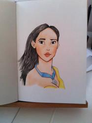 Pocahontas by Soenanda