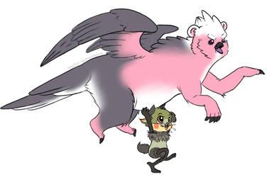 Onward to adventure! by psycho-gummybearz