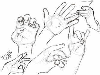 Gettin Handsy by psycho-gummybearz