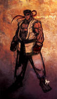 Ryu by silentgecko