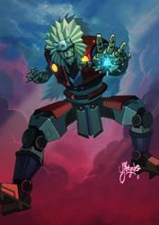 Robo-G-Raiya by silentgecko