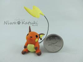 Pokemon - Raichu by Niwa-Katuki