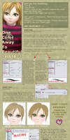 Hair Coloring Tutorial by popnicute