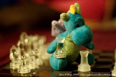 dragon chess by komodophoto