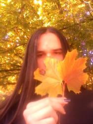 hiDDen behind amber by Beliar6