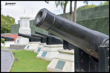 Old Cannon by ztockerstein