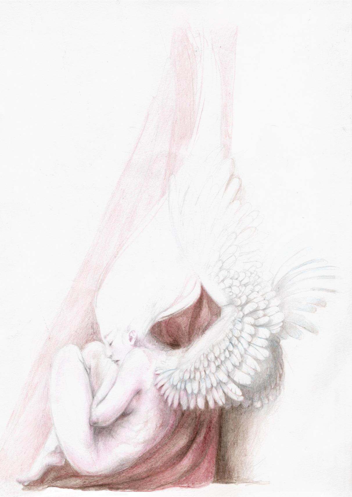 Sleeping Angel by MikhailD