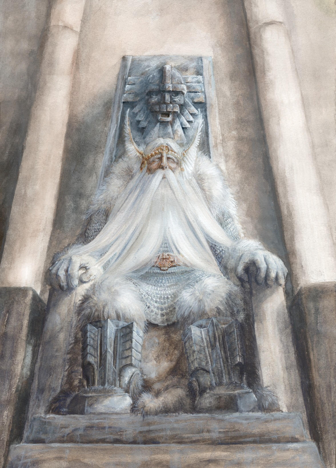 King of Dwarves by MikhailD
