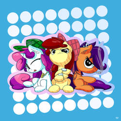 [Commision] The Booty Mark Crusaders by Bobdude0