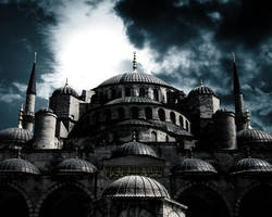 Sultan Ahmet Blue Mosque by gencebay55