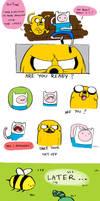 Adventure Time by Wichrzyciel