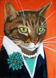 Paquita, A Business Cat by supah-com