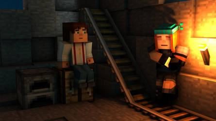 Minecraft: Story Mode Jetra by Zene5741
