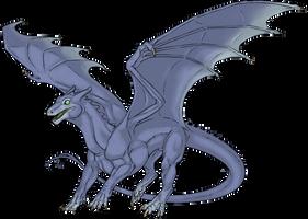 Dragon Riders of Pern - Old Blue by SeaSuds