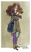 Hermione by La-petit-Marianna