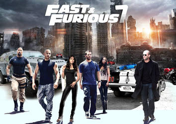 Fast and the Furious 7 by tilltheend