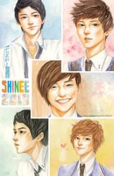 SHINEE 2010 by korilin