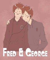 -HP- Fred n George by korilin