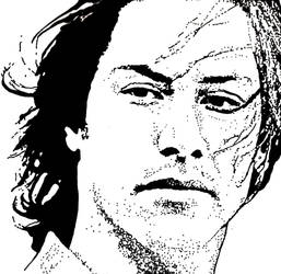Keanu Reeves by ladyjart