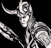 Loki by ladyjart