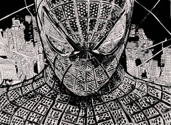 The amazing spiderman.. by ladyjart